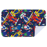 Microfibre XL Printed Towel - Racing Cars