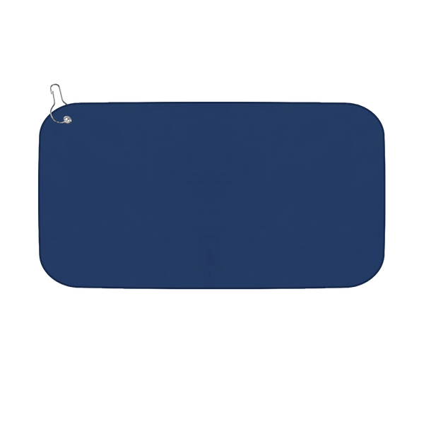 Microfibre Golf Towel - Navy / Navy