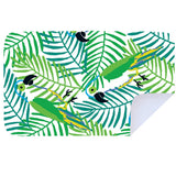 Microfibre XL Printed Towel - Hungry Parrot