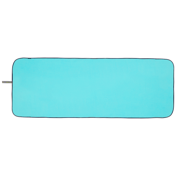 Microfibre Yoga Towel - Neon Light Blue