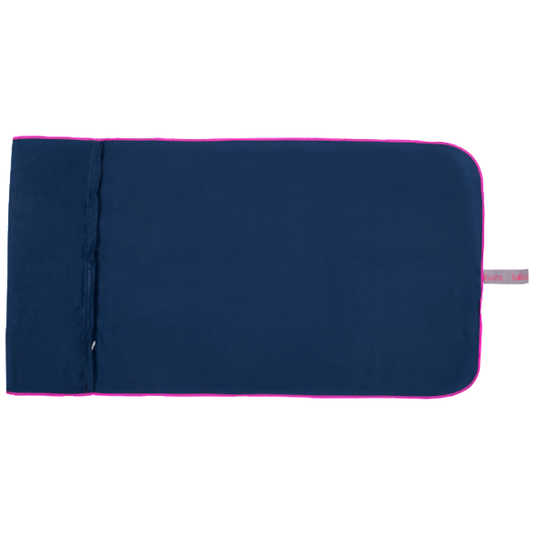 Microfibre Gym Towel - Navy / Cerise