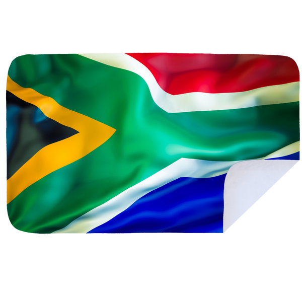 Microfibre XL Printed Towel - Waving SA Flag