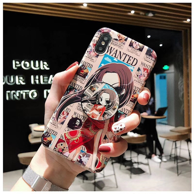 Boa Hancock Case w/ Pop Socket - Kisame Global