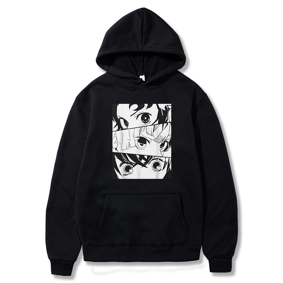 fnew drop Demon Slayer Graphic Hoodie