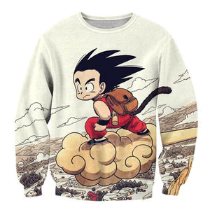 Kid Goku Sweater - Kisame Global