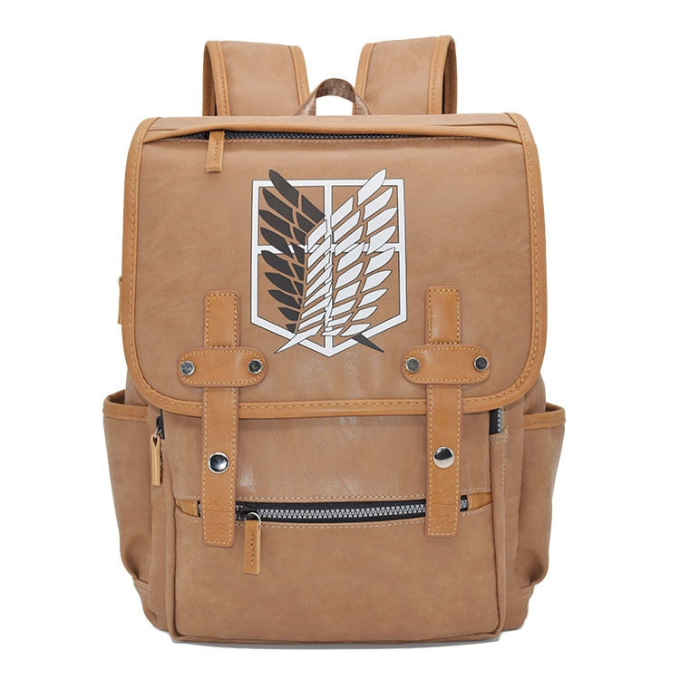 Scouting Legion Leather Backpack - Kisame Global