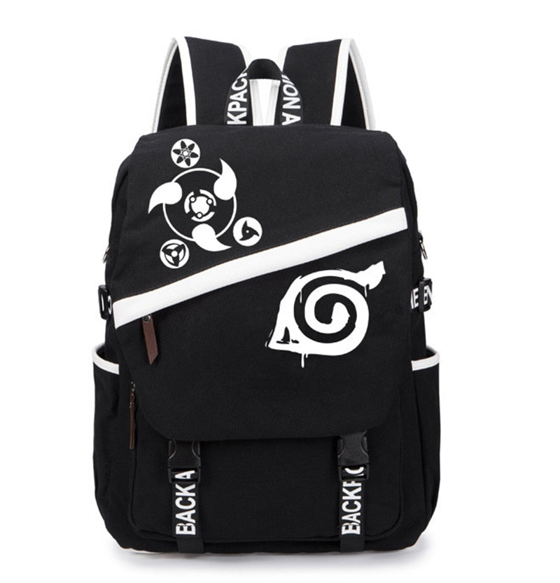 Hidden Leaf Backpack Anime - Kisame Global