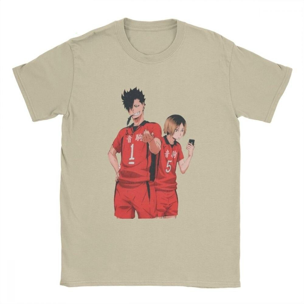 Kenma and Kuroo Haikyuu T-shirt