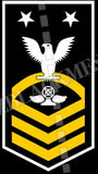 Air Traffic Controller (AC) Master Chief White Gold