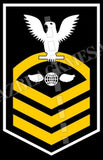 Aviation Electrician's Mate (AE) Chief White Gold
