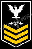 Aviation Electronics Technician (AT) First Class White Gold