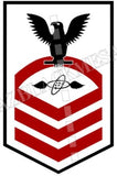 Aviation Electronics Technician (AT) Chief Black Red