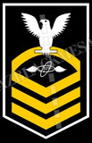 Aviation Electronics Technician (AT) Chief White Gold