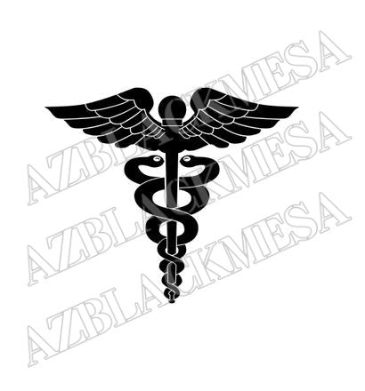 Hospital Corpsmen (HM) Rating Badge / Insignia