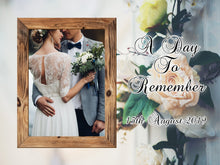 Load image into Gallery viewer, 15CM X 20CM Commemorative Wedding Day PHOTO SLATE - Don't take it personal