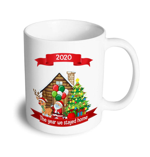 2020 stay at home Christmas Mug - Don't take it personal