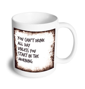 All day drinking mug - Don't take it personal