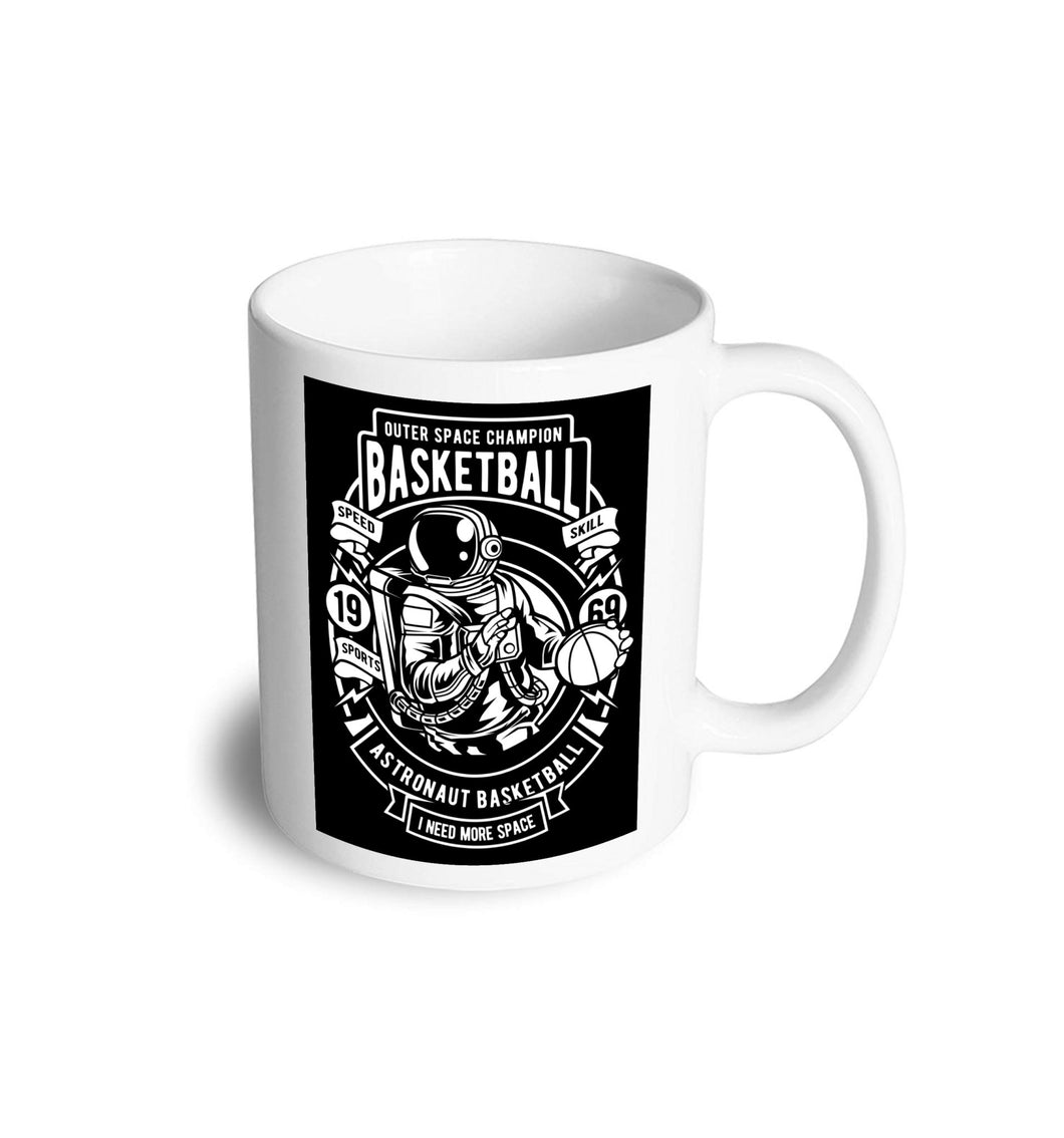 Astronaut Basketball mug - Don't take it personal