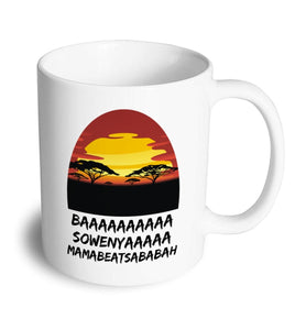 BAAAAAAAAA mug - Don't take it personal