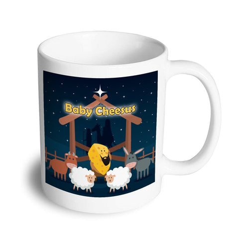 Baby Cheesus Christmas Mug - Don't take it personal
