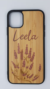 Bamboo Phone case personalised - Don't take it personal
