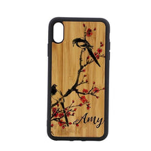 Load image into Gallery viewer, Bamboo Phone case personalised - Don't take it personal