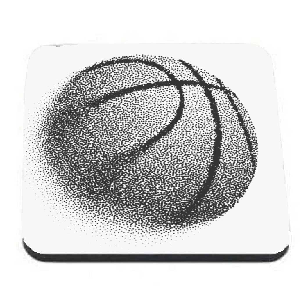 Basketball Dots coaster - Don't take it personal