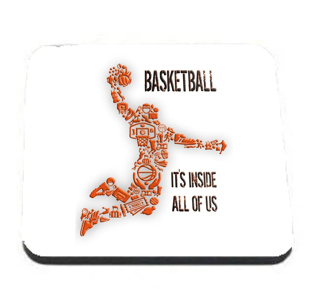 Basketball Player coaster - Don't take it personal
