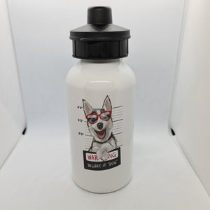 Beware of the Dog Aluminium 600ml Water bottle - Don't take it personal