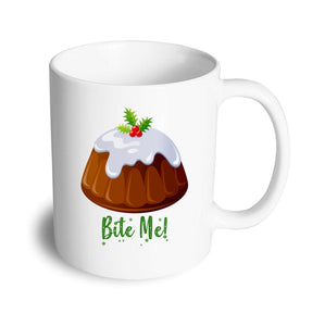 Bite me Christmas Mug - Don't take it personal