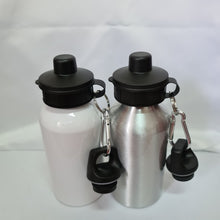 Load image into Gallery viewer, Born to Fish Aluminium 400ml Water bottle - Don't take it personal