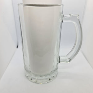 Born to Golf Beer Glass - Don't take it personal