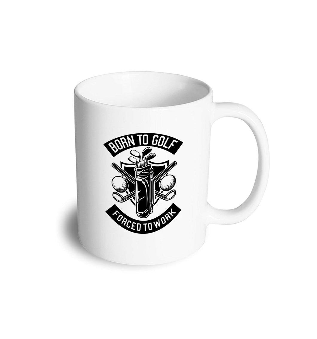 Born to Golf mug - Don't take it personal
