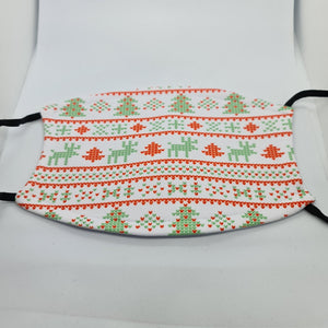 Christmas jumper face mask with filter pouch and 2 x PM2.5 filters - Don't take it personal