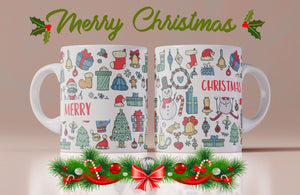 Christmas Pattern Mug - Don't take it personal
