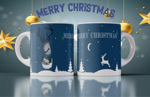 Christmas Reindeer Mug - Don't take it personal
