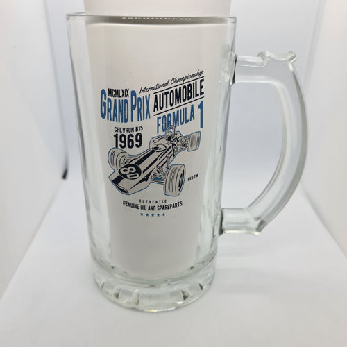 Classic Formula 1 Beer Glass - Don't take it personal