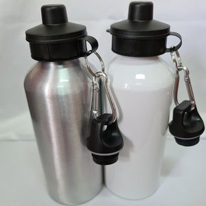 Contents Confidential Aluminium 600ml Water bottle - Don't take it personal