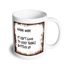 Load image into Gallery viewer, Drink wine mug - Don't take it personal