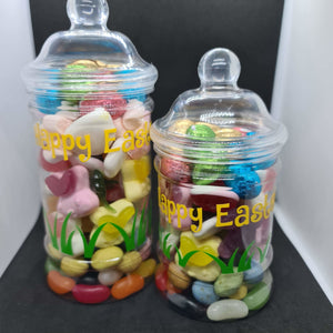 Easter sweet jar - large - Don't take it personal