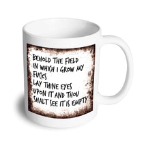 Load image into Gallery viewer, Field mug - Don't take it personal