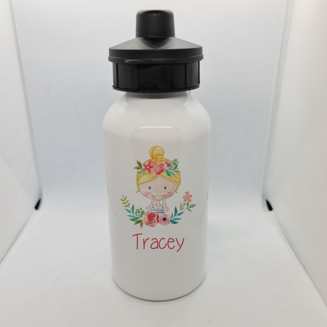 Flower Girl Aluminium 600ml Water bottle - Don't take it personal