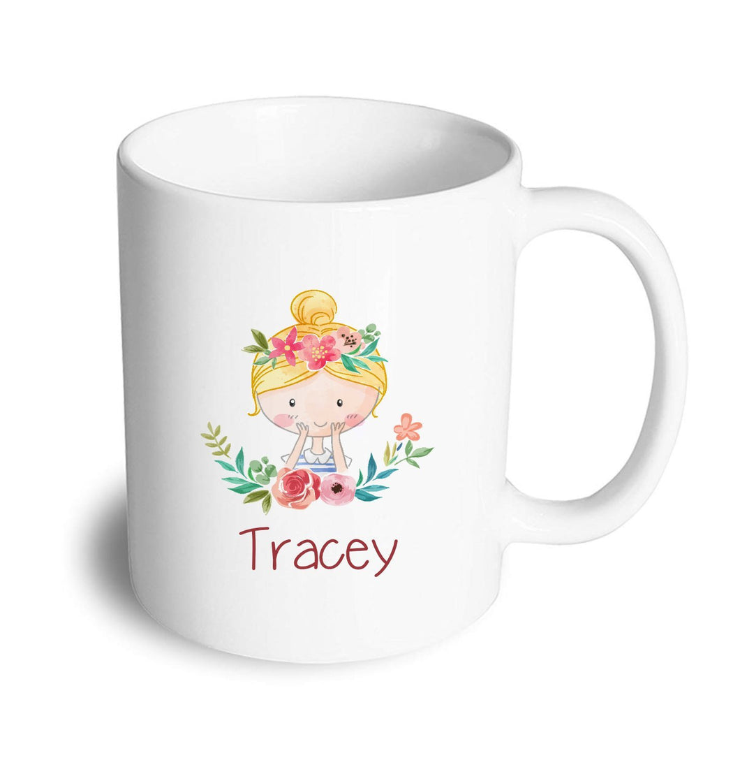 Flower Girl mug - Don't take it personal