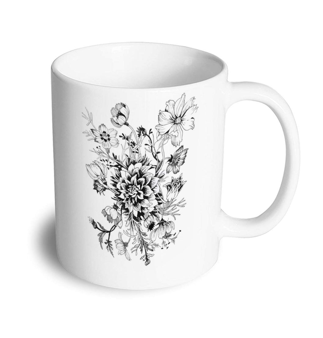 Flowers Mug - Don't take it personal