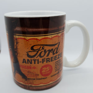 Ford oil can mug - Don't take it personal
