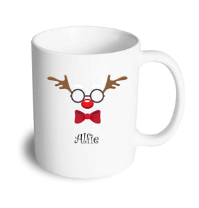 Funny face Reindeer Christmas Mug - Don't take it personal