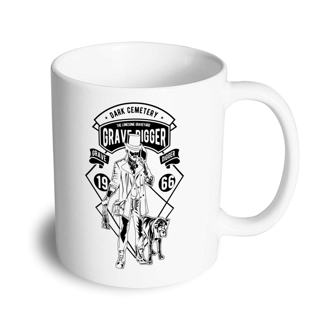 Grave digger Mug - Don't take it personal