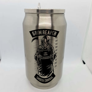 Grim Reaper Double wall stainless steel can - Don't take it personal