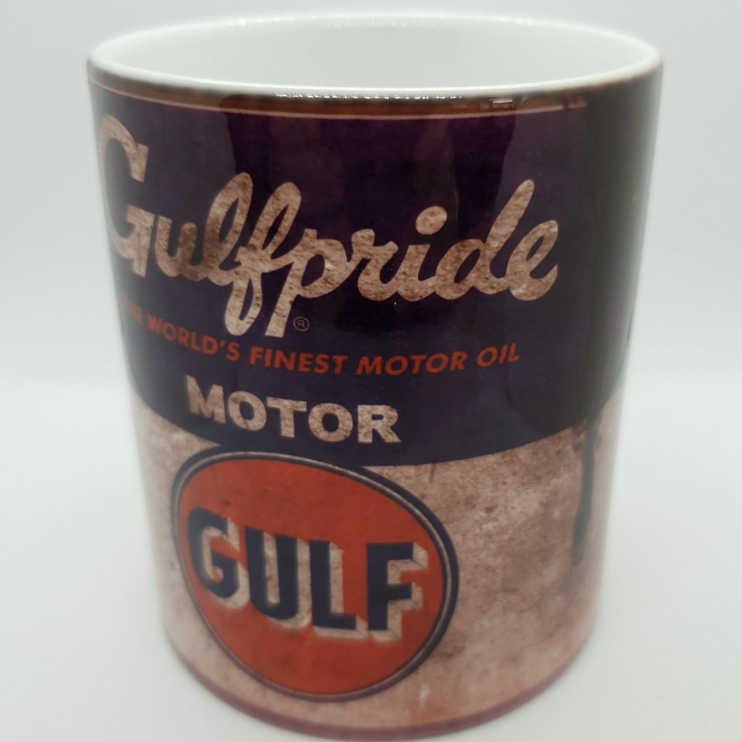 Gulf oil can mug - Don't take it personal