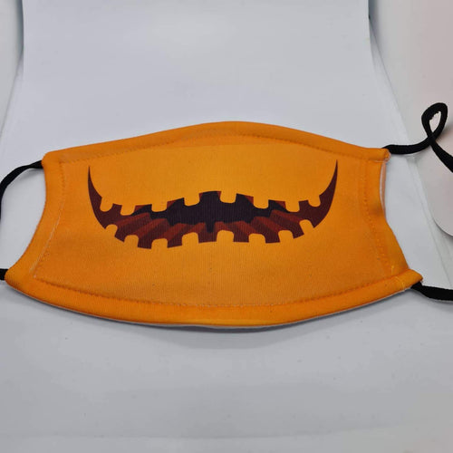 Halloween face mask with filter pouch and 2 x PM2.5 filters - Don't take it personal